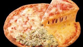 Пицца. Пицца четыре сыра. Пицца за пять минут. Как сделать тесто для пиццы. Как сделать пиццу