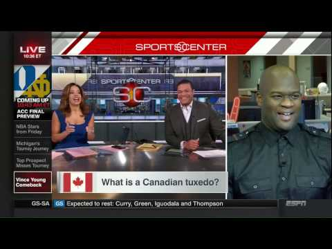 Vince Young takes a Canada quiz on SportsCenter