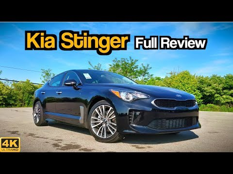 2019 Kia Stinger: FULL REVIEW + DRIVE | A Sports Car for the Masses!