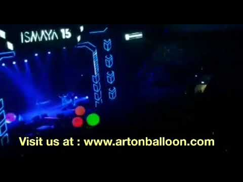 Balon Drop Jaring & Balon Led untuk Kemeriahan Anniversary Ismaya ke 15- Art on Balloon 08158819432 Mp3