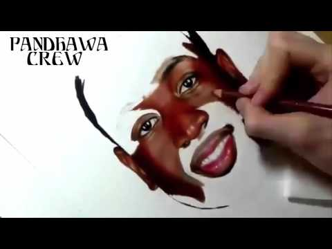 Amazing 3D Drawing Art With Pencil – Dwyane Wade Like Real