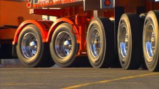 SAF CBX Self Steer Axle Suspension