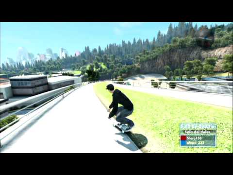 Skate 3 Sala del dolor con Sharp | Ep.1 | whiZ Videos De Viajes
