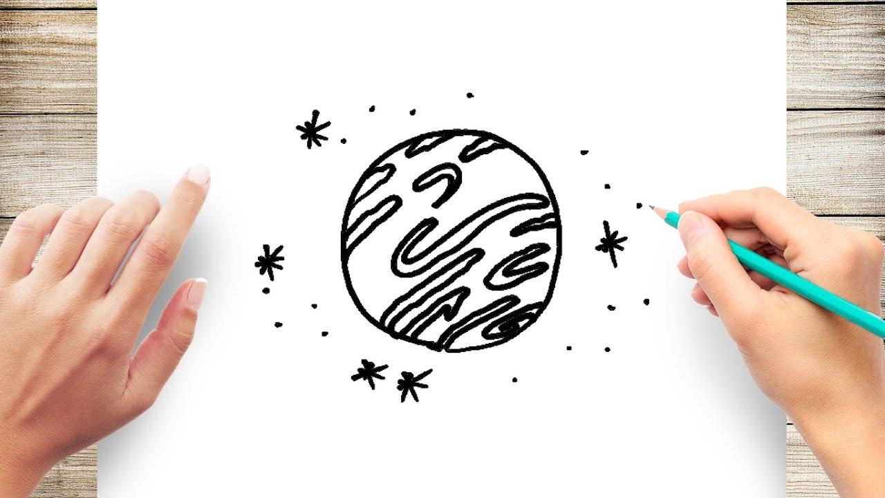 How to Draw Jupiter