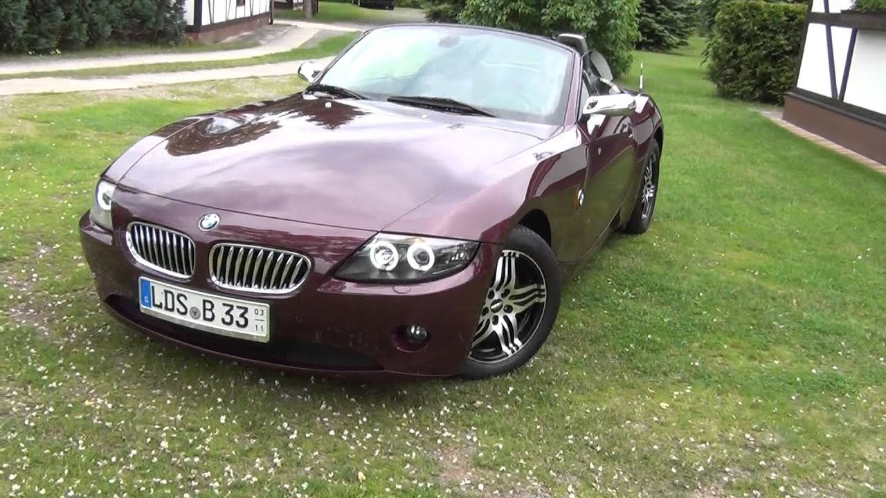 Bmw Z4 E85 Youtube