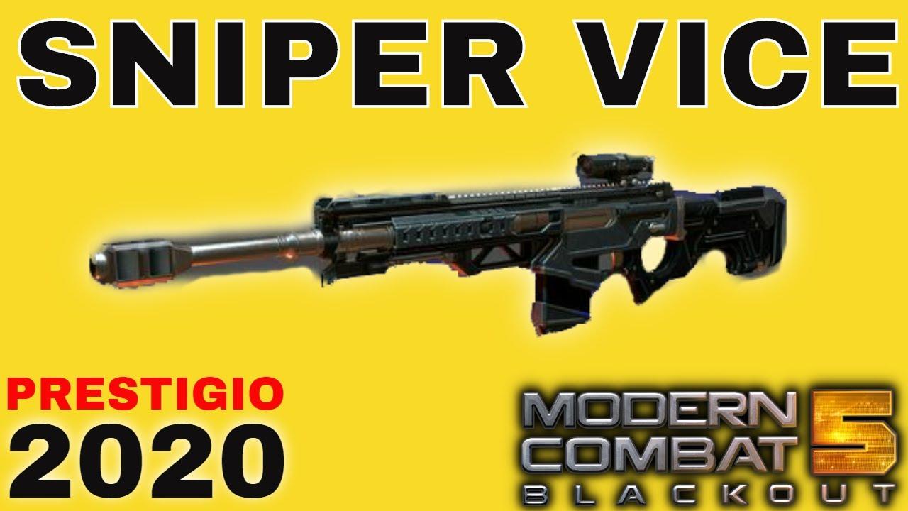 MC5 | Classe Sniper Arma VICE Prestigio 2020