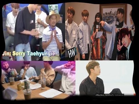 Hyungs exposing Taekook over and over (Taekook analysis)