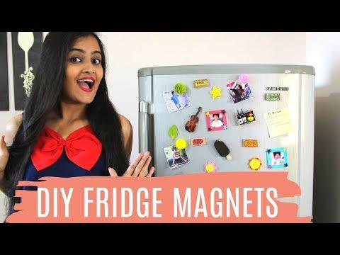 Cool DIY Fridge Magnets | Dhara Patel