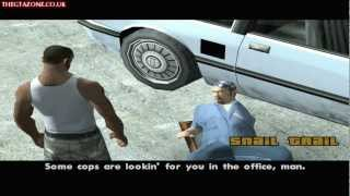 GTA San Andreas - Mission #47 - Snail Trail (HD)