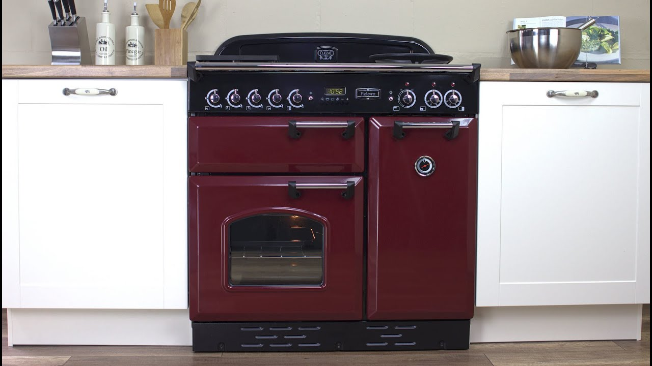falcon classic 90 herd range cooker youtube. Black Bedroom Furniture Sets. Home Design Ideas