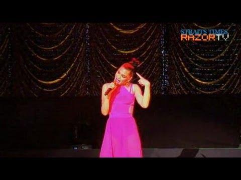 Jessie J medley (Jessie J hits Singapore Pt 5)