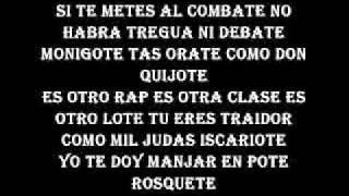 Letra de