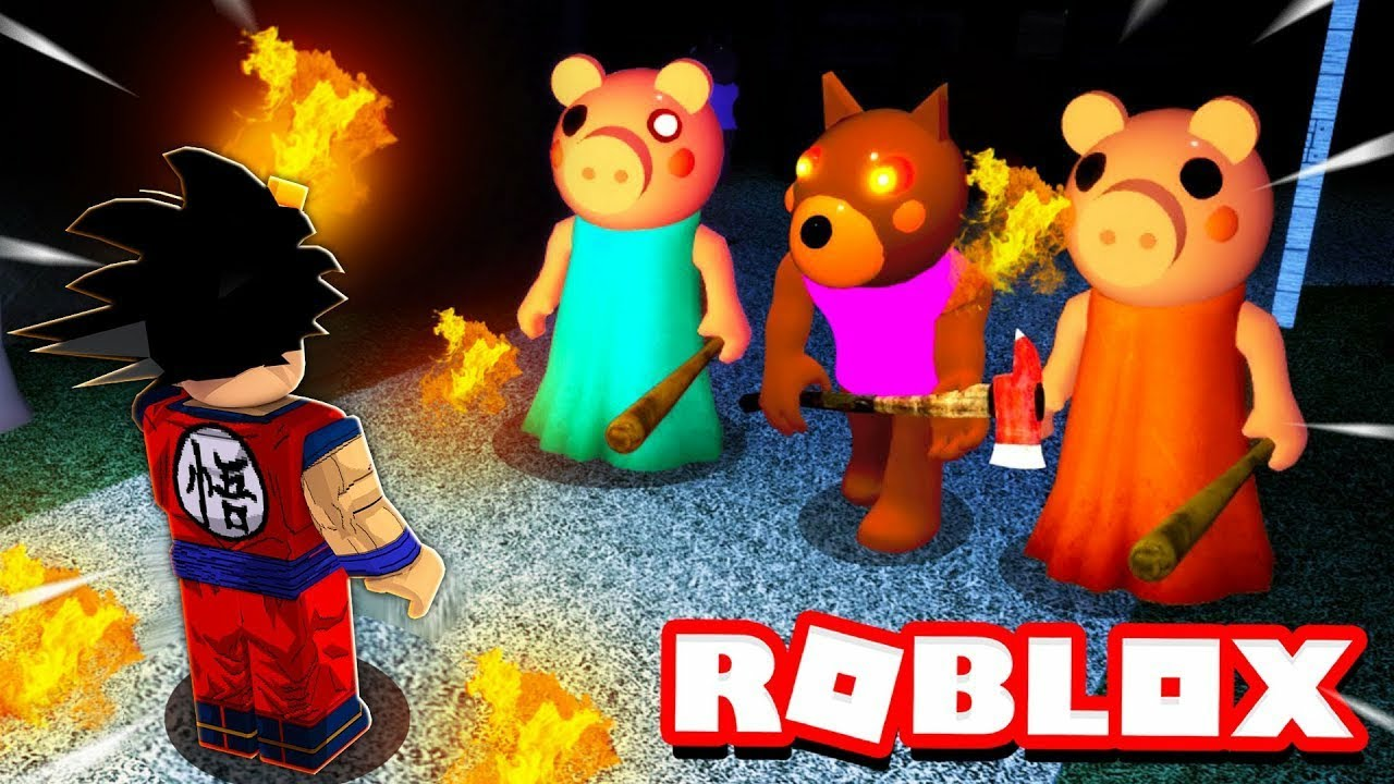 تجمع الخنازير الشريره في لعبة روبلوكس