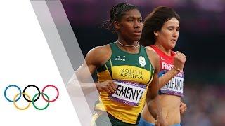 Women's 800m final - highlights | London 2012 Olympics