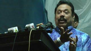 මහින්ද සියල්ල හෙළිකරයි Mahinda Rajapaksa reveals what happened when party supporter grabbed his hand