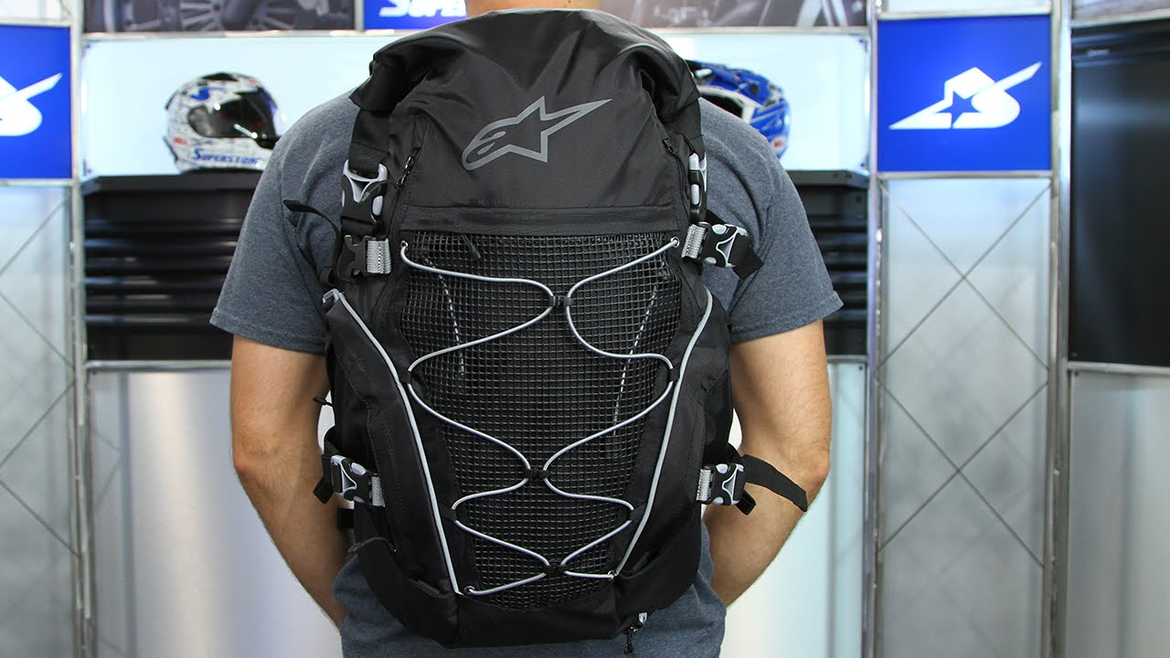 Alpinestars Orbit 35 Backpack | Motorcycle Superstore - YouTube