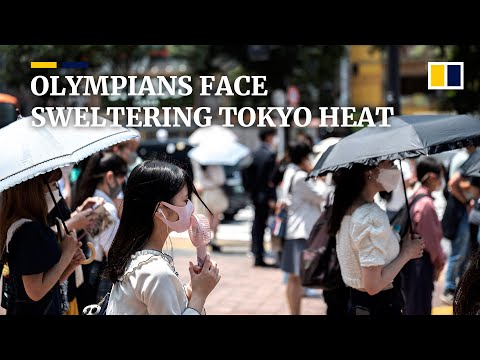 Olympic athletes face Tokyo's sweltering 'abnormal summer'