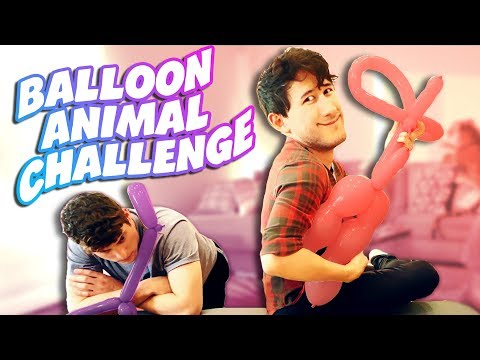 Thumbnail: BALLOON ANIMAL CHALLENGE #2