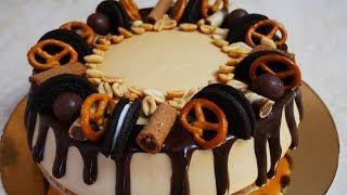 НЕВЕРОЯТНО ВКУСНЫЙ пирог!!! Карамельный чизкейк с печеньем и творогом БЕЗ ВЫПЕЧКИ