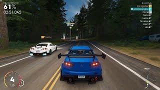 The Crew 2 - Mitsubishi Lancer Evo X vs Nissan GT-R Nismo Mountain Race