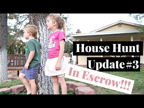 First Time Home Buyer House Hunt Update #3 | We Are In Escrow!