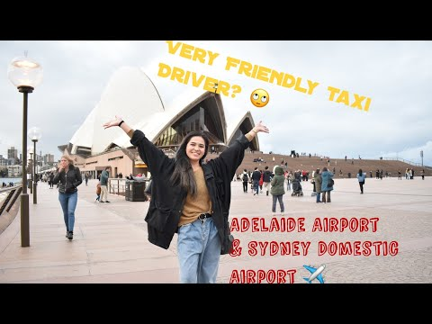 Vlog # 3 Adelaide Airport & Sydney Airport Our Journey To The Philippines 2019