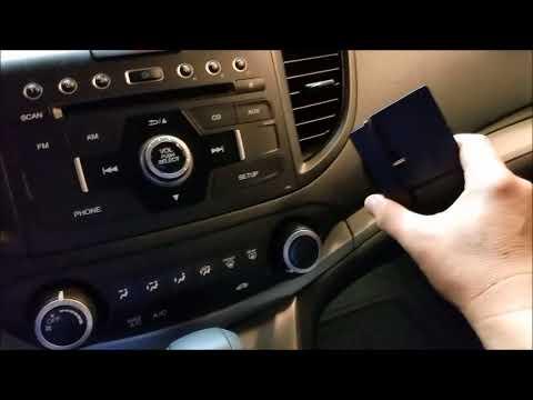siriusxm install  crv youtube
