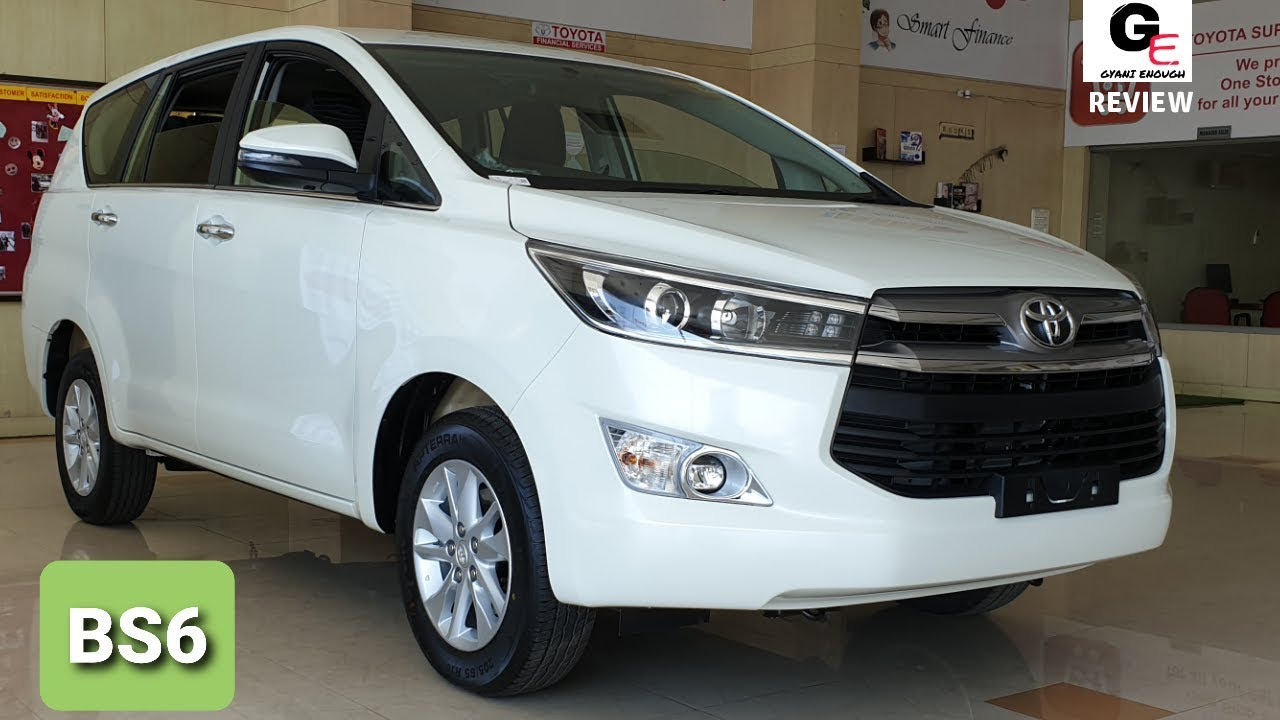 2020 Toyota Innova Crysta Vx Bs6 Detailed Review Features Changes Specs Price Youtube