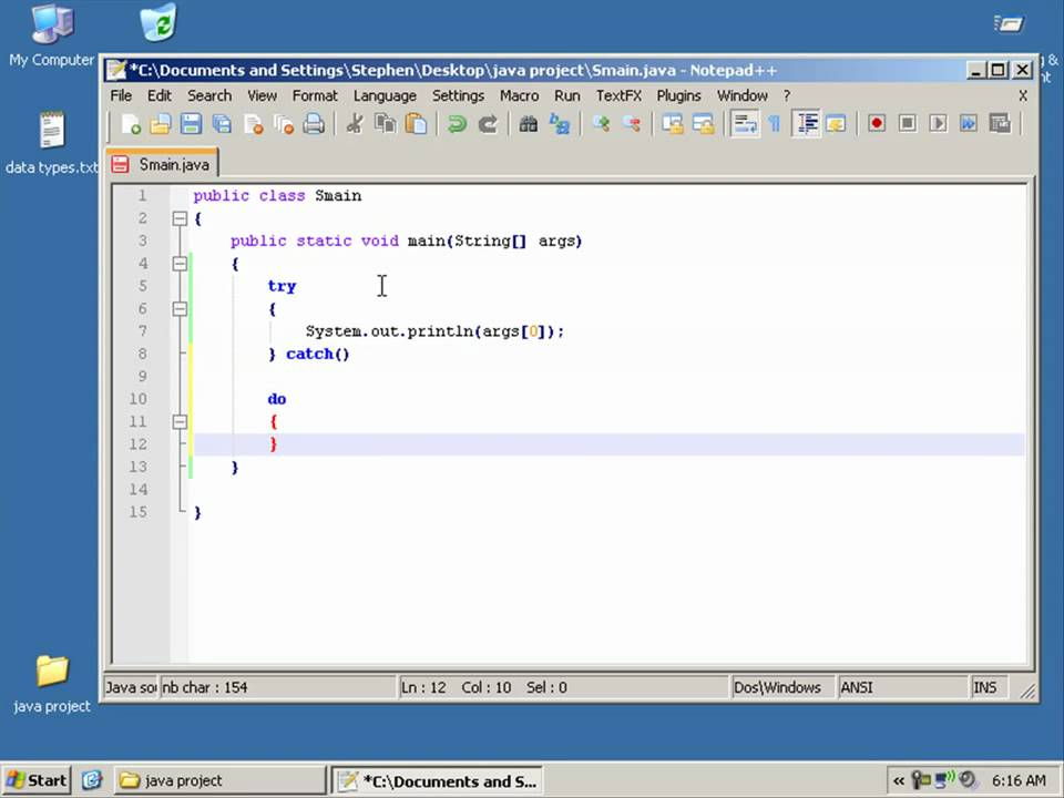 how to call default constructor in java