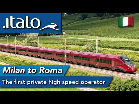 Review of Italo AGV high speed train : First private high speed operator...it's good.