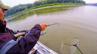 РЫБАЛКА В ДЫМУ ОТ ЛЕСНЫХ ПОЖАРОВ! ШОК!! Я поймал ЕГО в июле!!! Рыбалка на поролон