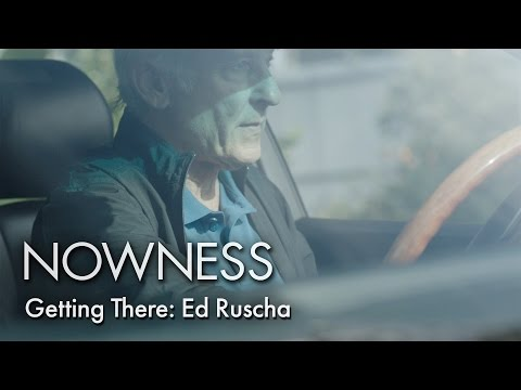 """Ed Ruscha in """"Getting There"""" by Matthew Donaldson"""