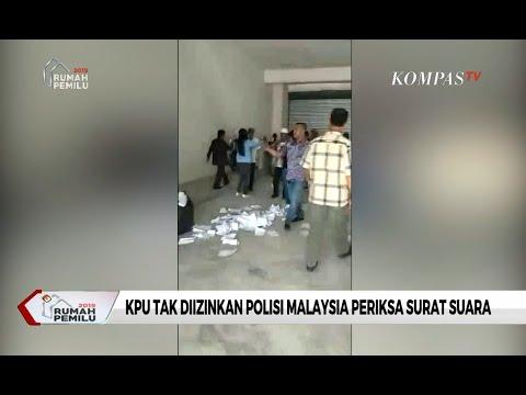 Kasus Surat Suara Tercoblos di Malaysia, PDRM Tak Izinkan KPU Periksa Surat Suara