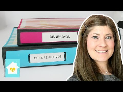 CHILD DVD STORAGE   HOW I STORE MY KID'S DVDS