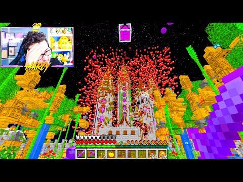 MARCY PIANGE DURANTE L'EVENTO DEL BIG LADRO nella BIG VANILLA  - Minecraft ITA