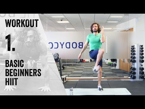 Workout 1: 15 Minute Home Workout | The Body Coach Beginner Workout Series