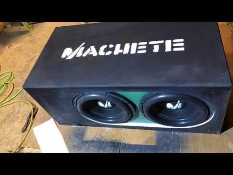 New Custom Box For Alphard Machete Sport 12's