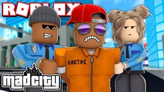 Searching for the MOST WANTED CRIMINAL in ROBLOX MAD CITY!! (Roblox Livestream)
