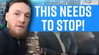 Why I'm OVER Conor McGregor. (Old Man incident)