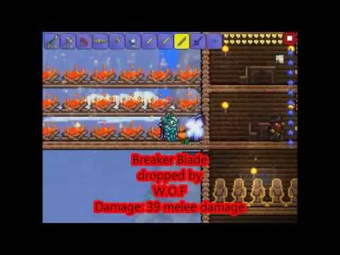 Terraria | IOS | Small Sword Wiki | Not all swords in this video!