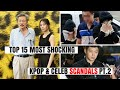 Top 15 Most Shocking Kpop & Korean Celebrity Scandals Of All Time Pt.2 | Hot Topic video