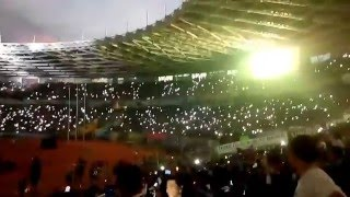 WOW! Koreografi Bobotoh Viking Persib Club Menggunakan lampu di GBK Jakarta