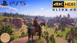 Red Dead Redemption 2 - PS5 HDR 4K Gameplay 2160P (RDR2 PS5) Pt.2