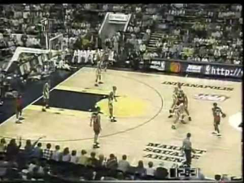 Pacers vs Hawks (1996 Playoffs)