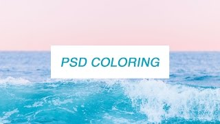 psd colorings + how to use them