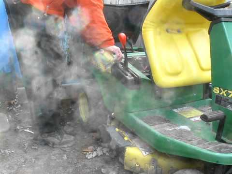 john deere sx 75 cold start youtube rh youtube com john deere rx75 manual john deere sx75 manual download