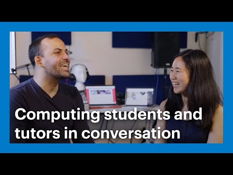 One to One - Goldsmiths Computing students and tutors in conversation