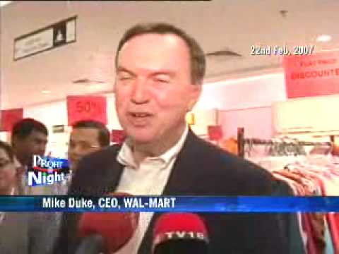 Walmart Stores announces Mike Duke as new chief