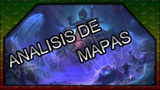 🎬 Heroes of the Storm | Análisis mapas #4 | Tumba Reina Araña | Tomb of the Spider Queen