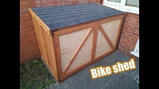 how to make / Bike shed / DIY